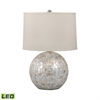 Mother of Pearl Orb LED Table Lamp