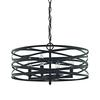 Vorticy 4 Light Chandelier In Oil Rubbed Bronze