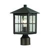 Cornerstone Shaker Heights Post Lantern In Hazelnut Bronze