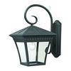 Cornerstone Ridgewood 1 Light Exterior Coach Lantern In Matte Textured Black