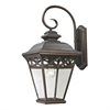 Mendham 1 Light Exterior Coach Lantern In Hazelnut Bronze