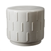 Lazy Susan White Tread Stool