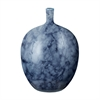 Lazy Susan Midnight Marble Bottle - Lg