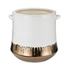 Lazy Susan Metallic Alloy Drip Crock