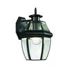 Cornerstone Ashford 1 Light Exterior Coach Lantern In Black