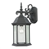 Cornerstone Spring Lake 1 Light Exterior Coach Lantern In Matte Textured Black