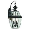 Ashford 2 Light Exterior Coach Lantern In Black