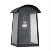 Prince Street 1 Light Exterior Wall Lamp In Matte Black