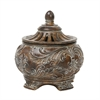 Sterling Fortress Lidded Bowl
