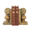 Sterling Pair Of Floral Urn Bookends