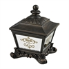 Sterling Bronze Box With Damask Printed Mirror