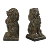 Sterling Lion Bookends