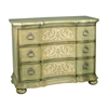 Sterling Argent Scroll Chest