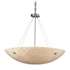 ELK lighting Stonybrook 8 Light Vanity In Satin Nickel And Pearl Stone Glass