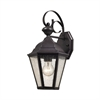 Cotswold 1 Light Exterior Wall Lamp In Oil Rubbed Bronze