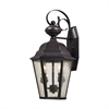 Cornerstone Cotswold 2 Light Exterior Wall Lamp In Oil Rubbed Bronze
