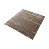 Auram Handwoven Viscose Rug In Sand - 16-Inch Square Sand