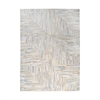 Karim Hand Stitched Leather Patchwork Rug 16x16