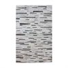Joico Hand Stitched Leather Patchwork Rug 16x16