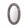 Byzantion Round Mosaic Mirror
