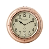Polished Copper Nautical Clock