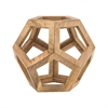 Dimond Lighting Wooden Honeycomb Orb Woodtone