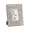 Aluminum Textured 4x6 Photo Frame