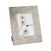 Aluminum Textured 5x7 Photo Frame