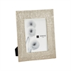 Ripple Texture 5x7 Photo Frame In Silver