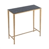Karelia Console Table Antique Brass