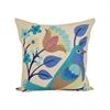 Pomeroy Larksburg 20x20 Pillow, Sand,Blue Paradise