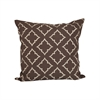 Pomeroy Rothway 20x20 Pillow, Dark Earth,Crema
