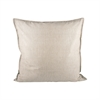 Pomeroy Chambray 24x24 Pillow In Chateau Grey, Chateau Grey