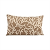 Coralyn 20x12 Pillow In Smoked Pearl, Smoked Pearl,Crema