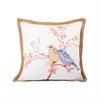 Pomeroy Glenwick 20x20 Pillow, Mauves,Ivory