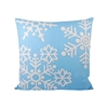 Malibu Snow Pillow 20X20-Inch, Frosted Capri