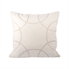 Pomeroy Perla Pillow 20X20-Inch, Crema,Chateau Graye