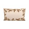 Autumn Shimmer 20x12 Pillow, Sand,Dark Earth