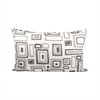 Pomeroy Mondrian Lumbar Pillow 26X16-Inch, Crema,Chateau Graye