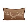 Pomeroy Antler 26x16 Lumbar Pillow, Dark Earth,Crema
