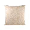 Floralee 20x20 Pillow, Dusty Dijon,Antique White