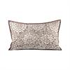 Old World 26x16 Lumbar Pillow, Dark Earth,Crema