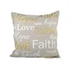 Expressions 20x20 Pillow, Chateau Graye,Gold,White