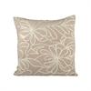 Pomeroy Anello 20x20 Pillow, Sand,Crema