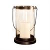 Pomeroy Schooner Lantern - Small, Rustic,Clear
