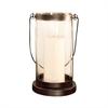 Pomeroy Schooner Lantern - Large, Rustic,Clear