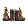 Sterling Pair Tuscan Scroll Bookends