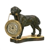 Labrador Retriever Desk Display Clock