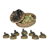 Sterling Set of 8 Lucky Dog Boxes