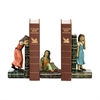 Sterling Pair of  Child Games Bookends